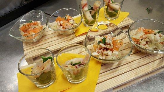Portomaggiore, Italien: Degustazione di Antipasti di Mare