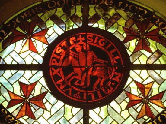 Abbaye de Stavelot : Stavelot : Les Templiers