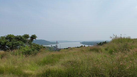 Madayipara: View of valapattanam river atop Madayi