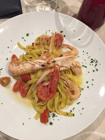 Locanda Colla : Lasagnetta con scampi