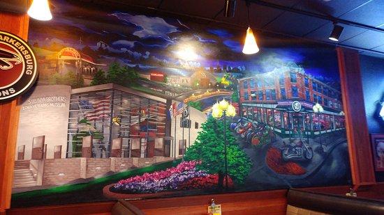 Cedar Falls, IA: Wrap pizza and inside