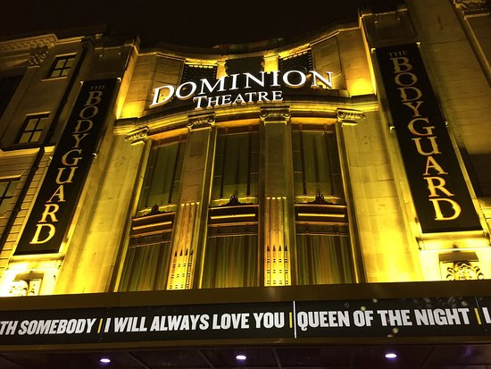 The Bodyguard at the Dominion Theatre London