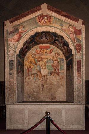 Certaldo, Włochy: Tabernacolo dei Giustiziati, Benozzo Gozzoli