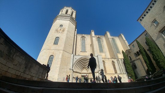 Girona Cathedral (Catedral): At the side of the Cathedral