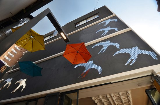 The Bannister Hotel: A commissioned art work for the side of the building