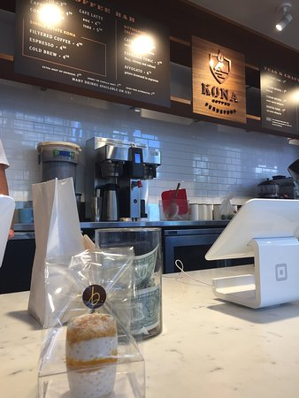 Great coffee, excellent pastries, and wonderful staffs! I visited this coffee shop everyday duri