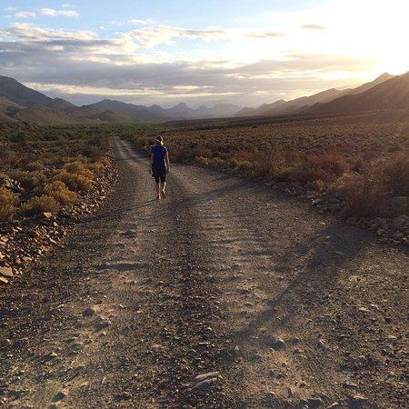 Ladismith, Sudáfrica: Early morning run