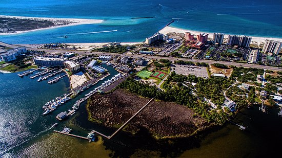 Perdido Beach Resort Aerial View