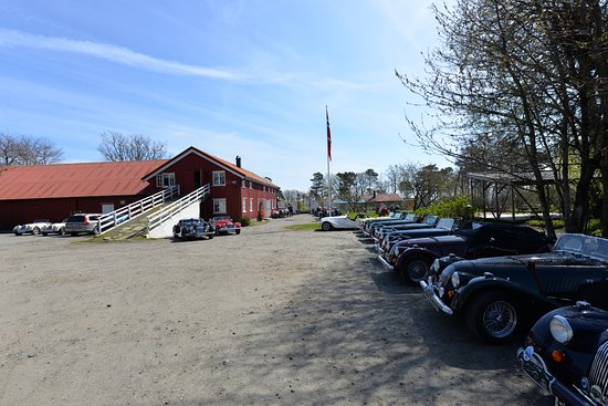 Arendal, النرويج: More than 50 Morgans were on tour