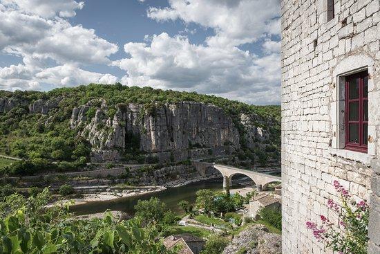 Balazuc, France: Vue sur l'Ardèche