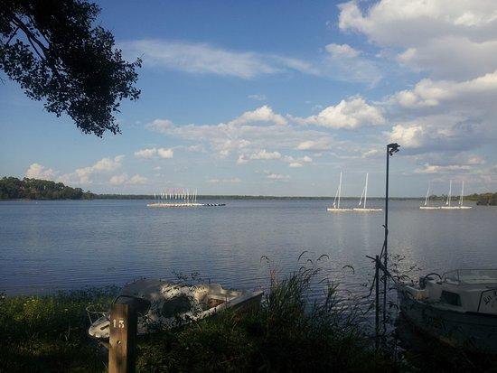 le lac de mimizan/aureilhan - picture of promenade fleurie