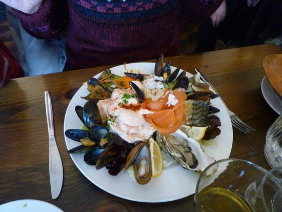 Roundstone, Irlandia: Assiette de la mer