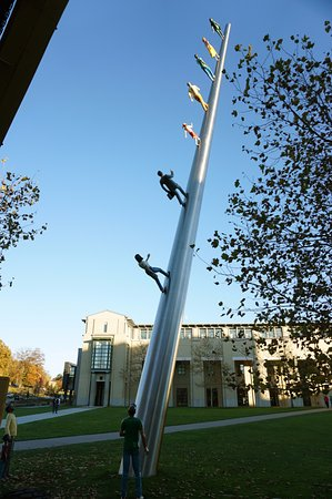 Walking to the Sky by Robert Buckley Picture of Carnegie Mellon