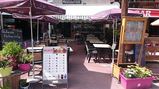 Valfrejus, Frankreich: TERRASSE ETE