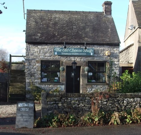 """Hartington, UK: Famous (featured recently in Escape to the Country """"Old Cheese Shop"""""""
