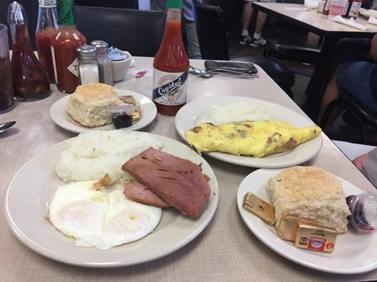 Mother's Restaurant: Ham and Eggs!