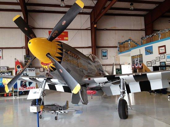 Tallulah, Λουιζιάνα: Exhibit inside the Hangar