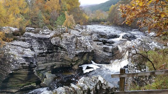 Invermoriston Bridge and Falls Nov 2016
