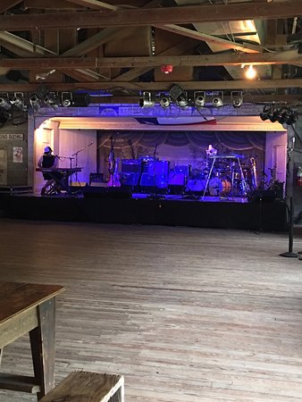 empty dance hall prior to concert picture of gruene hall new