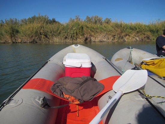 Richtersveld Transfrontier National Park, Güney Afrika: canoe's