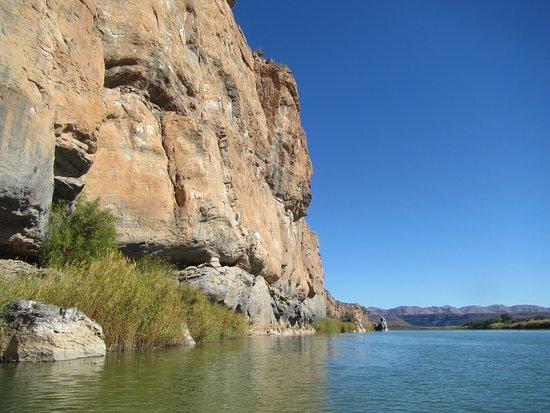 Richtersveld Transfrontier National Park, Güney Afrika: orange river