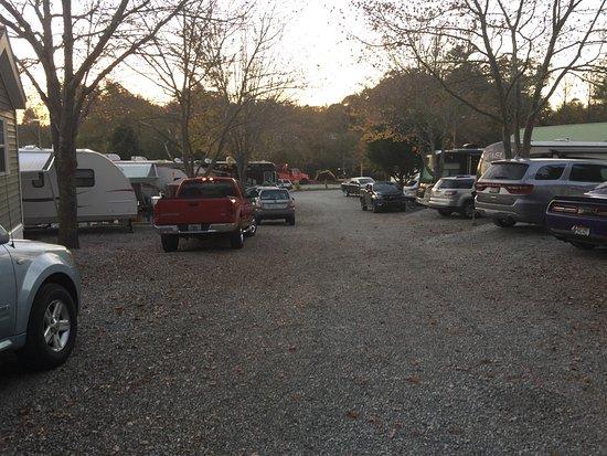 Fletcher, Carolina del Norte: Crowded sites!