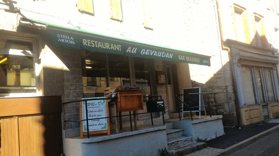 Saugues, Frankrijk: Restaurant Au Gévaudan