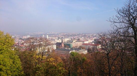 Vista da cidade de Brno