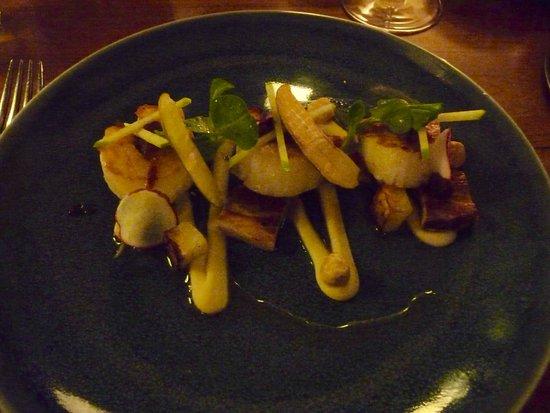 Kota Restaurant: Scallops and Belly Pork