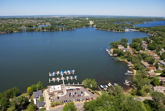Prior Lake, MN: I like this place so much I rented a helicopter and took an aerial photo of it.