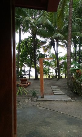 Fenix Hotel - On The Beach: View from our room to the grounds and beach beyond.