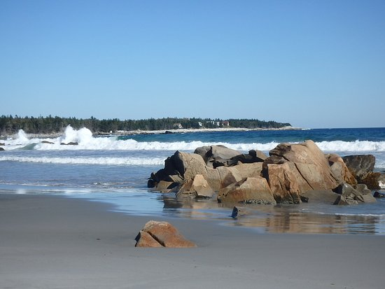 Southwest Nova Scotia, Canada : Beautiful beach
