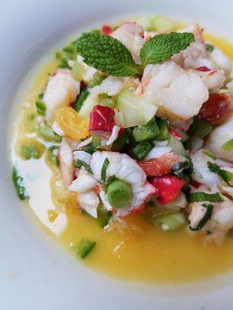 Oceana Restaurant: Lobster Ceviche