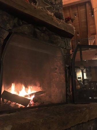 Tabernash, CO: massive fireplace!