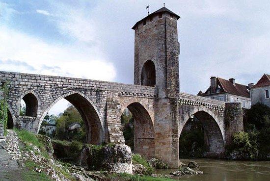 Pont Vieux Orthez - coté Aval
