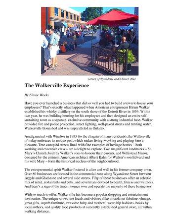 Olde Walkerville Neighborhood Windsor 2019 All You