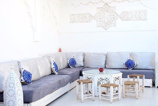Riad Aguaviva: Terrace