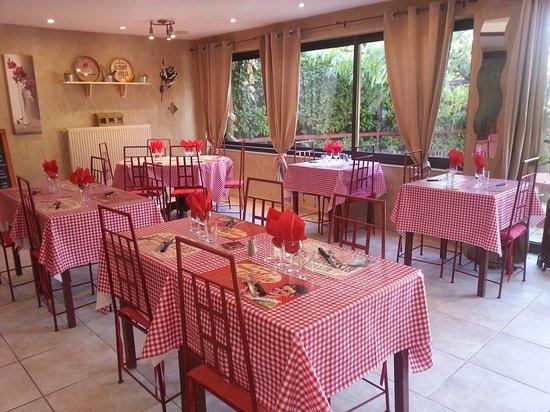 La Calabria: La nouvelle salle du restaurant