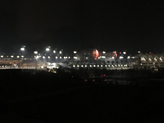 Centro Yas Island Abu Dhabi by Rotana: Room view in F1 Marina circuit
