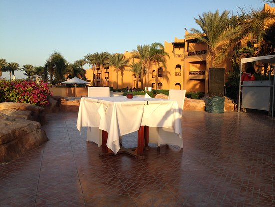Stella Di Mare Beach Resort & Spa Makadi Bay: when you book a seafood dinner (50€)