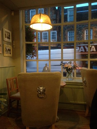 Radlett, UK: Breakfast area