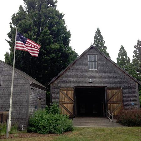 West Tisbury, MA: The Far Barn, a former sheep barn dating from the 18th & 19th century, was restored in 2011.