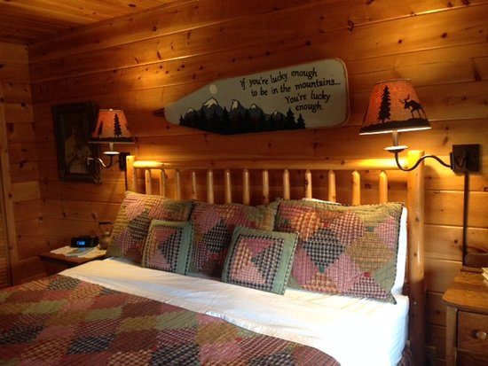Mountain Springs Cabins: King Bed