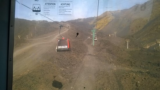 Cable Car Up Mount Etna Picture Of Monte Etna Catania Tripadvisor