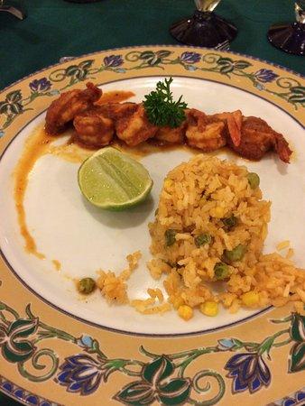 Hotel Riu Santa Fe Mexican Restaurant La Mision Deviled Shrimp A