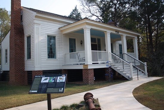Selma, AL: The Visitor Center at Old Cahawba.