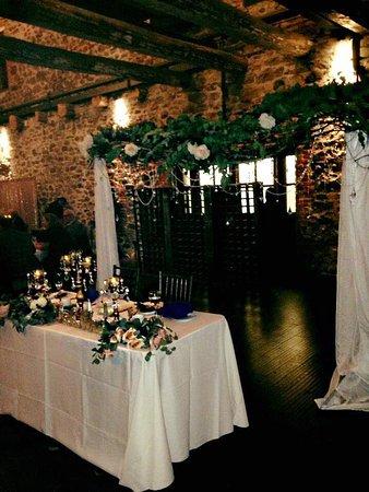 Washingtonville, Nowy Jork: Sweetheart table set up