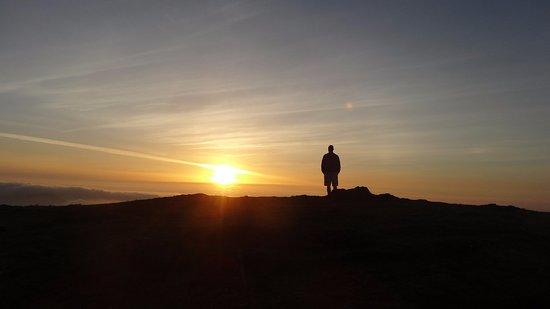 Cariño, España: Atardecer magico