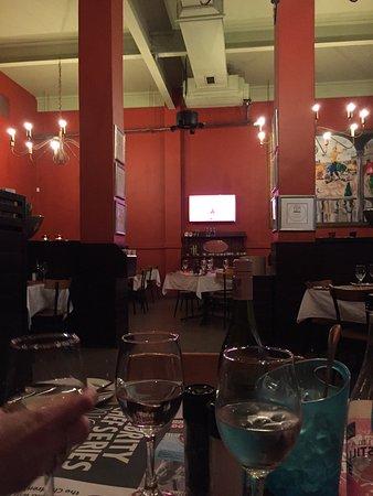 Col'Cacchio Pizzeria Foreshore: Vues de l'intérieur