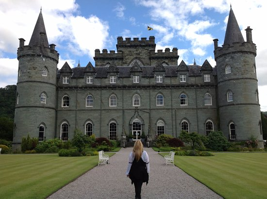 Inveraray Castle, Scotland.